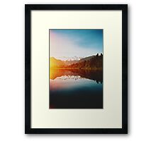 Lake Matheson Framed Print