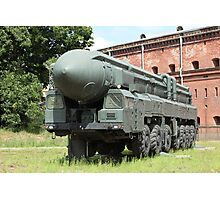 mobile missile launcher Photographic Print