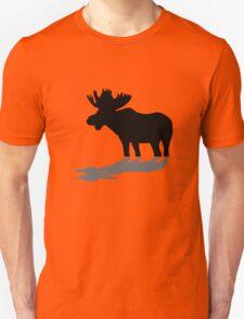 Moose at lake Unisex T-Shirt