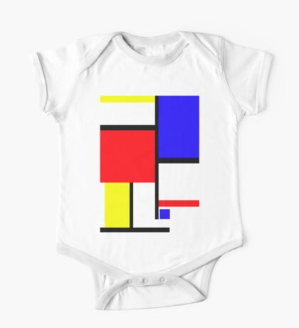 Method in the Mondrian Kids Clothes