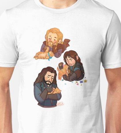 The Durins and the Kitten Unisex T-Shirt