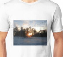 Cold sunset Unisex T-Shirt