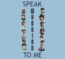 Doctor Who - Speak whovian to me by matildedeschain