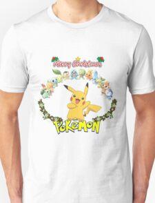 Pokemon Christmas T-Shirt
