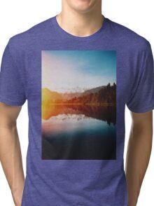 Lake Matheson Tri-blend T-Shirt