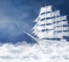 Cloud ship by Geraldas Galinauskas