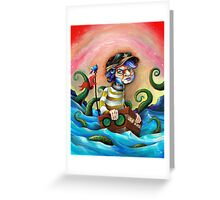 Tentacle Takeover Greeting Card