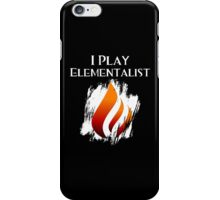 I Play Elementalist iPhone Case/Skin