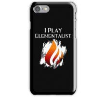 I Play Elementalist iPhone Case/Skin