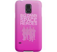Big damn intergalactic space heroes. (iPhone case/pink) Samsung Galaxy Case/Skin