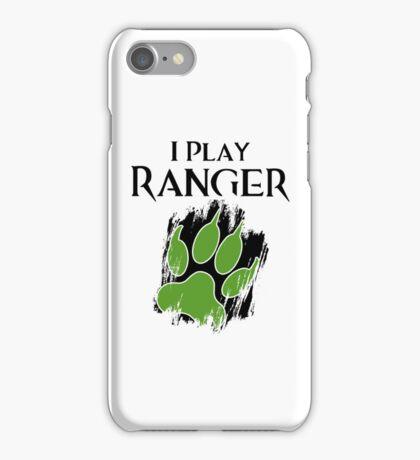 I Play Ranger iPhone Case/Skin