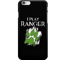 I Play Ranger iPhone Case/Skin