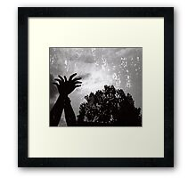The Miracle is the Shortest Time Framed Print