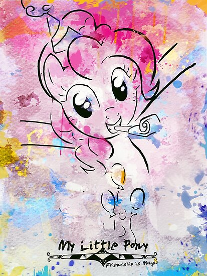 Poster: Pinkie Pie by Han Zhao