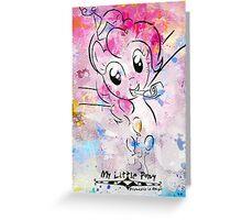 Poster: Pinkie Pie Greeting Card