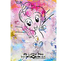 Poster: Pinkie Pie Photographic Print