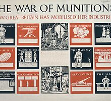 The war of munitions How Great Britain has mobilised her industries 518 by wetdryvac