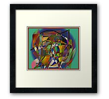 Difference 3 Framed Print