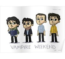 vampire weekend - figure Poster