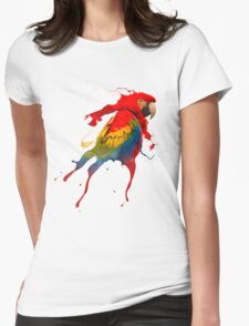 Creative parrot Womens Fitted T-Shirt