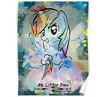 Poster: Rainbow Dash Poster