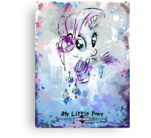Poster: Rarity Canvas Print