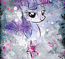 Poster: Twilight Sparkle by kimjonggrill