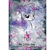 Poster: Twilight Sparkle Photographic Print