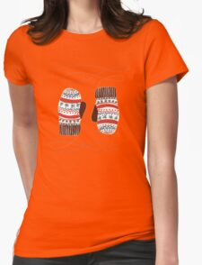 Warm christmas Womens Fitted T-Shirt