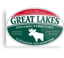 Great Lakes Moose Metal Print