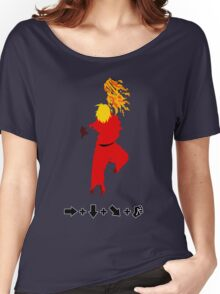 Vector Shoryuken 2  Women's Relaxed Fit T-Shirt