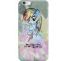 Poster: Rainbow Dash iPhone Case/Skin