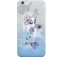 Poster: Rarity iPhone Case/Skin