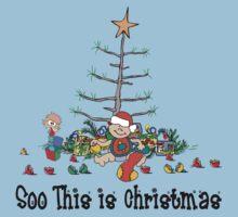 First Christmas Baby's 1st Chirstmas T-Shirt Kids Tee