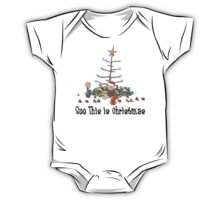 First Christmas Baby's 1st Chirstmas T-Shirt One Piece - Short Sleeve