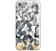 Dreams in blue iPhone Case/Skin