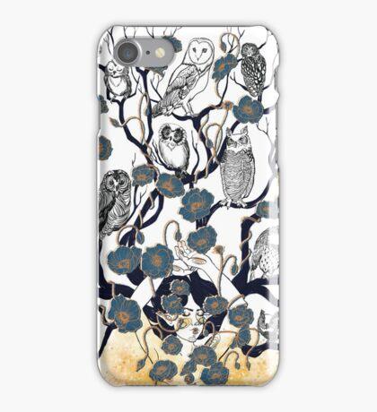 Dreams in blue iPhone Case/Skin