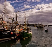 Mevagissey Harbour in Cornwall by Jay Lethbridge
