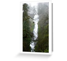 Munson Creek Falls Greeting Card