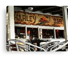 Harley Beach Bar Canvas Print