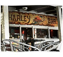 Harley Beach Bar Poster