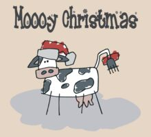 """Mooy Christmas"" Merry Christmas T-Shirts by HolidayT-Shirts"