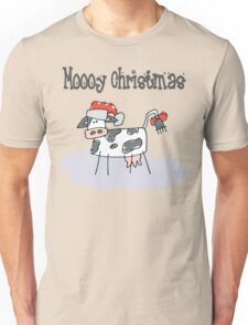 """Mooy Christmas"" Merry Christmas T-Shirts Unisex T-Shirt"