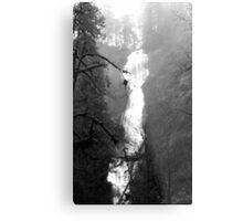 Eerie Munson Creek Falls Metal Print