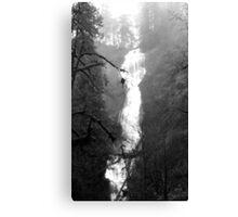 Eerie Munson Creek Falls Canvas Print