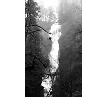 Eerie Munson Creek Falls Photographic Print