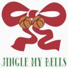 "Merry Christmas T-Shirt ""Jingle My Bells"" by HolidayT-Shirts"