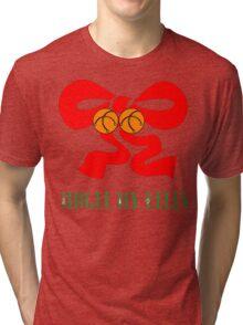 """Merry Christmas T-Shirt """"Jingle My Bells"""" Tri-blend T-Shirt"""
