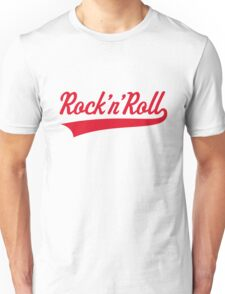 Rock 'n' Roll (Red) Unisex T-Shirt