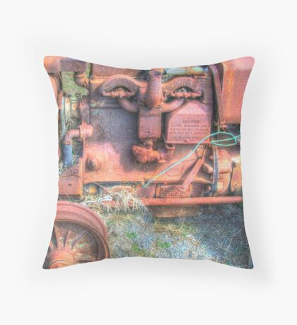 Crusty Throw Pillow